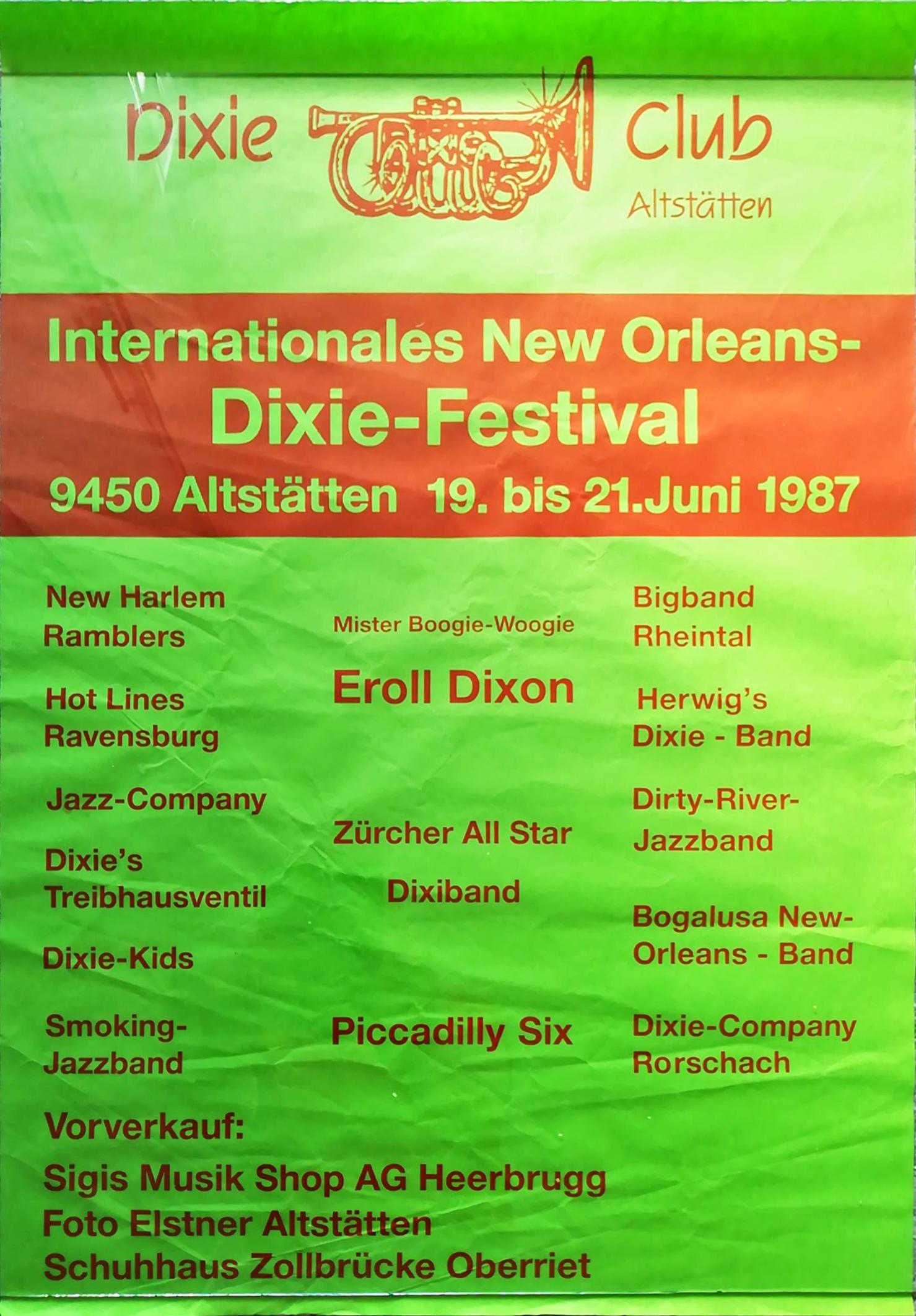 21. Int. New Orleans-Dixie-Festival